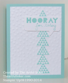 Clean and Simple Geometrical card