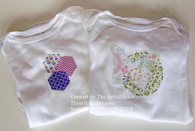 Hexagon and Sweet Sorbet Onesies
