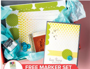 Paper Pumpkin kit offer plus Stampin' Write Markers