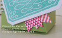 Banner detail on Scallop Tag Topper Punch box