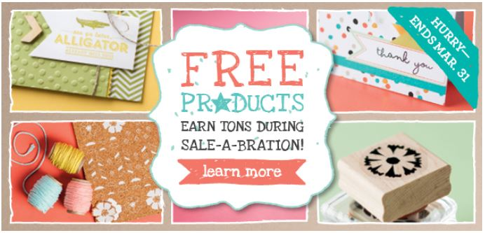 Sale-A-Bration theartfulinker.stampinup.net