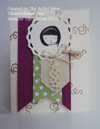 Sweetie Pie and Heartfelt Banner Kit by theartfulinker.com