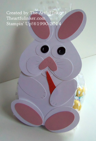 Bunny Treat Bag by theartfulinker.com