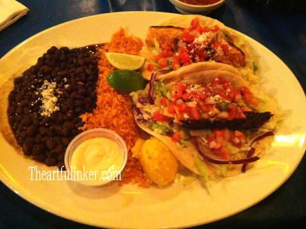 Fish Tacos from Chevys Fresh Mex