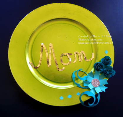 Mother's Day Plaque from theartfulinker.com
