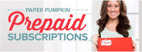 Paper Pumpkin Subscription Banner