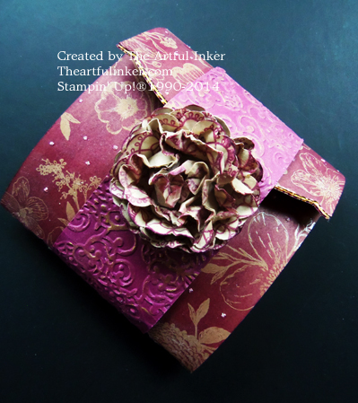 Wallet Mini Album from theartfulinker.com