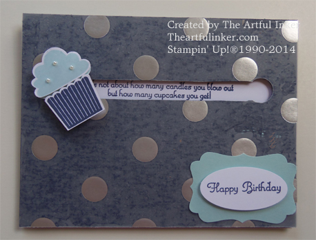 Create a Cupcake Spinner Card