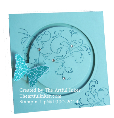 Creative Elements Spinner Card from theartfulinker.com