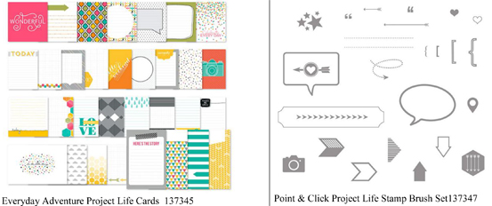 Project Life digital downloads from theartfulinker.com