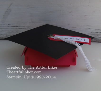 Hamburger Box Die Graduation Cap from theartfulinker.com