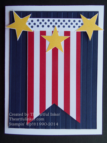 Memorial Day Card from theartfulinker.com