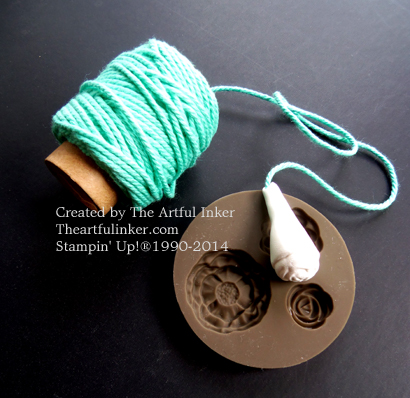 Simply Pressed Clay and Thick Baker's Twine