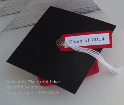 Top of Mortar Board from theartfulinker.com