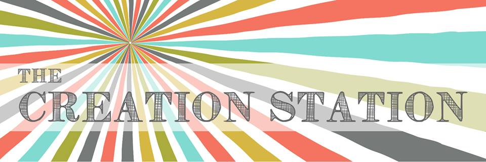 Creation Station Blog Hop Banner