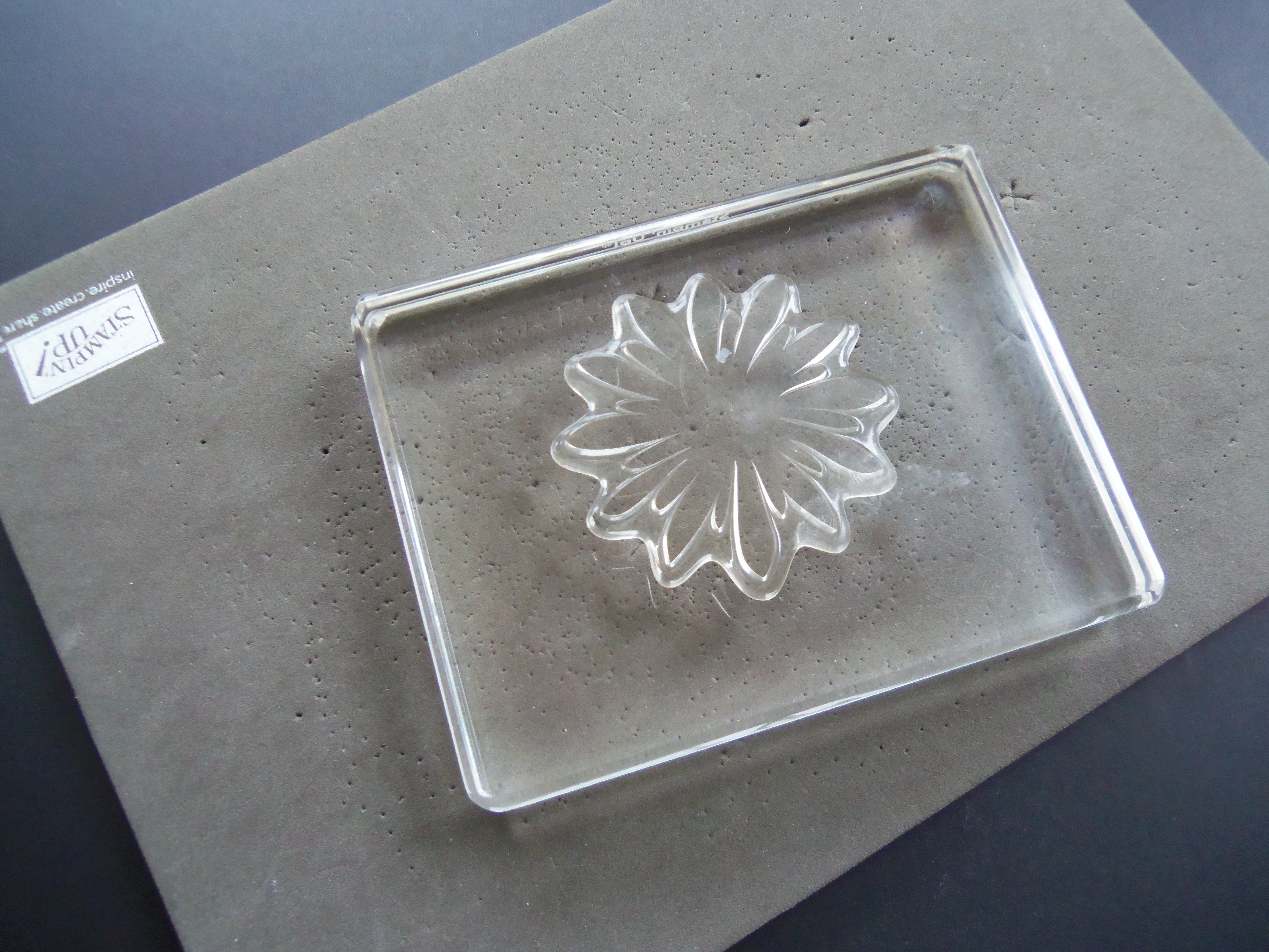 Tip for getting good prints from Flower Patch from theartfulinker.com