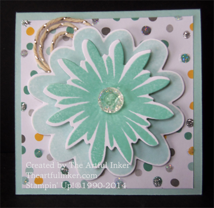 Flower Patch Love Note from theartfulinker.com