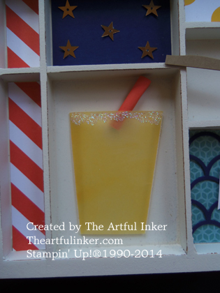 Icy Lemonade from theartfulinker.com