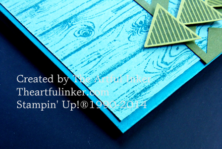 Geometrical Masculine card detail from theartfulinker.com