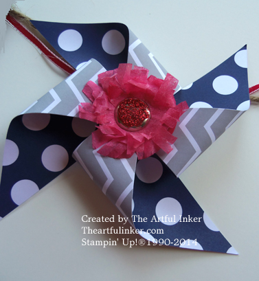 Close up of Pinwheel from theartfulinker.com