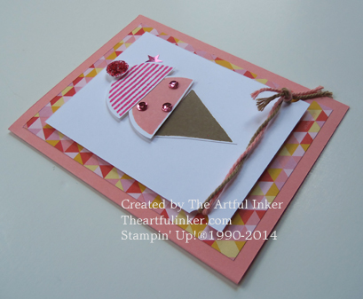 What's Your Type Ice Cream card angled from theartfulinker.com