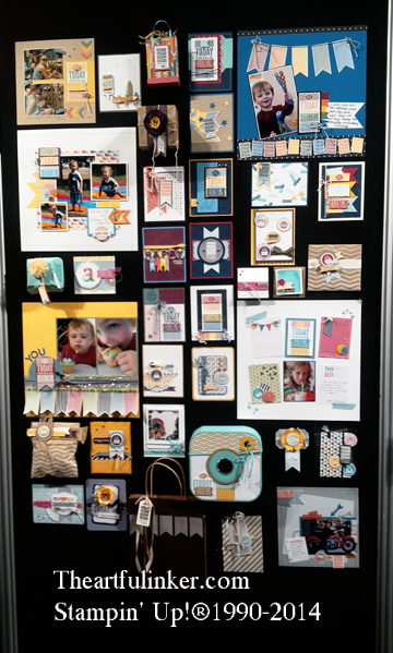 Stampin' Up! Convention Display Board 14