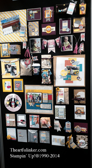Stampin' Up! Convention Display Board 7