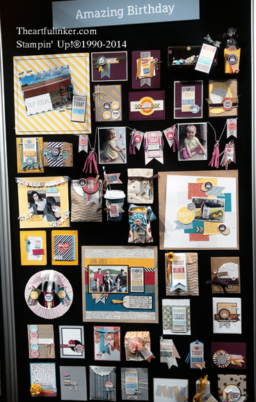 Stampin' Up! Convention Display Board 8