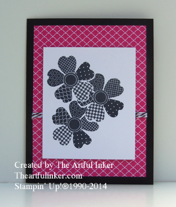 Fast Friday Zentangle-Like Flower Shop from theartfulinker.com
