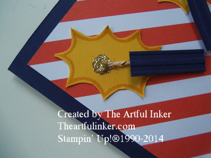 Firecracker detail from theartfulinker.com