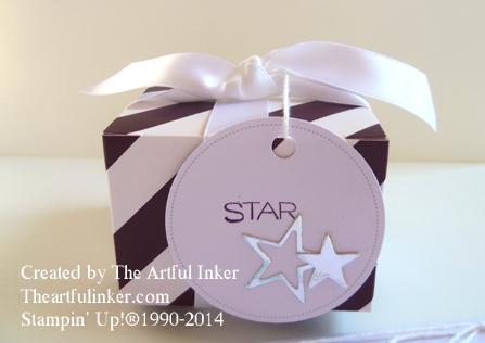 July, 2014 Paper Pumpkin Giftbox from theaartfulinker.com