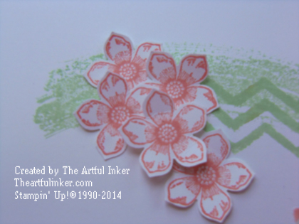 Petite Petals and Work of Art detail