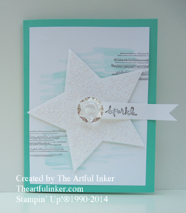 Bright and Beautiful on Coastal Cabana from theartfulinker.com