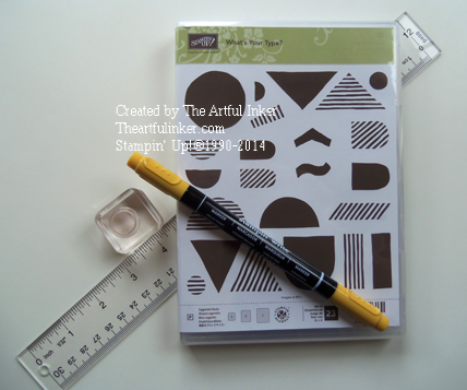 What's Your Type School Bus supplies from theartfulinker.com