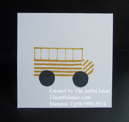 What's Your Type School Bus from theartfulinker.com