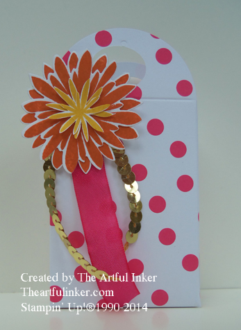August 2014 Paper Pumpkin Envelope Box from theartfulinker.com