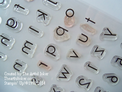 Back to Basics Alphabet
