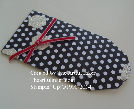 Back to Black Gift Card Holder from theartfulinker.com