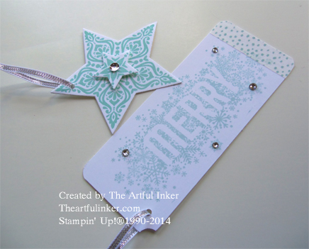 Bright and Beautiful and Seasonally Scattered tags from theartfulinker.com
