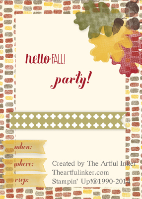 For All Things MDS Party Invitation from theartfulinker.com