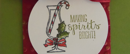 10 Days of Christmas, Card 2 - Making Spirits Bright