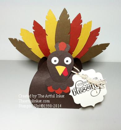 Curvy Keepsake Box Turkey from theartfulinker.com
