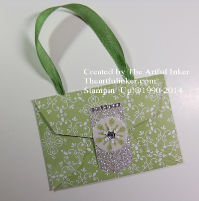 Gift Card Thinlit Purse from theartfulinker.com