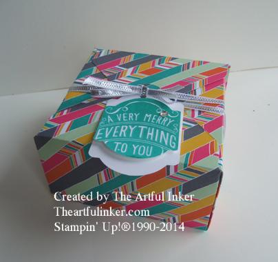 Confetti Celebration Gift Box from theartfulinker.com