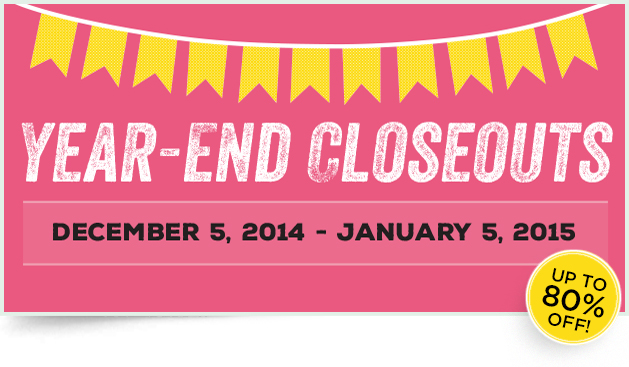 Year End Closeouts from theartfulinker.com