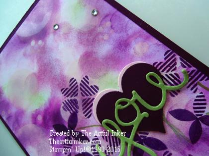 Blackberry Bliss Bokeh card from theartfulinker.com