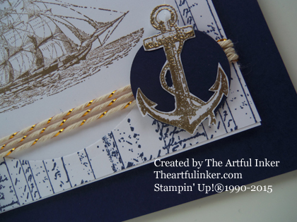 The Open Sea detail for Try Stamping on Tuesday #209 from theartfulinker.com