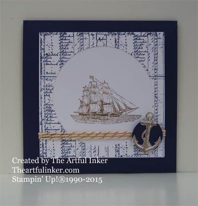 The Open Sea for Try Stamping on Tuesday #209 from theartfulinker.com