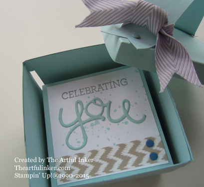 Berry Basket with Lid filled with Crazy About You Love Notes from theartfulinker.com