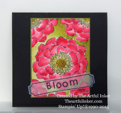 Blended Bloom for PPA248 from theartfulinker.com